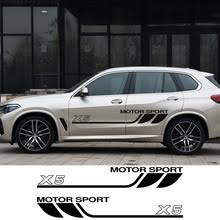 2 Pcs. for BMW X5 F15 E70 E53 G05 Sports Vinyl Film Car Door ...