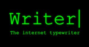 Writer, the Internet Typewriter