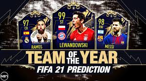 FIFA 21 | TOTY PREDICTION | TEAM OF THE YEAR 2020 | ft. Lewandowski, Messi,  Ramos, Neuer,... - YouTube
