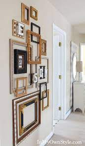decorating with frames frame wall