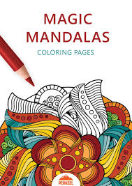 Free printable fall coloring pages. File Magic Mandala Coloring Pages Printable Coloring Book For Adults Pdf Wikimedia Commons