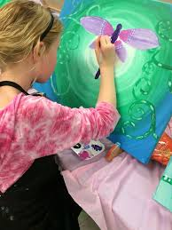 art paint party for kids smiles guaranteed gracen