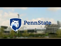 penn state summer session you
