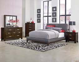 ... Bedroom furniture, Elegant Grey Bedroom Furniture Ideas With Black And  White Rugs Also Brown Wooden ...