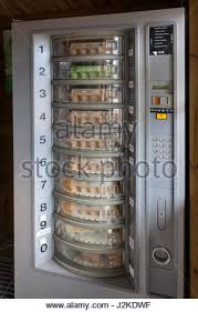Egg Vending Machine Classy Cabin With Egg Vending Machines In Langeraar Holland Stock Photo