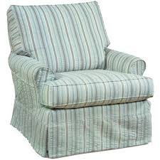 swivel glider chair. Four Seasons Furniture Accent Chairs Transitional Sarah Swivel Glider Chair With Pleated Skirt E