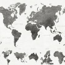 Fotobehang Wereldkaart Op Maat