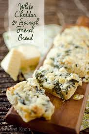 sharp white cheddar. white cheddar \u0026 spinach french bread - krafted koch crusty topped with baby sharp