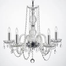 g46 b15 b43 384 5 crystal chandelier chandeliers lighting with chrome sleeves swag chandeliers