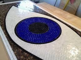 custom eye mosaic