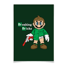 Плакат A3(29.7x42) <b>Марио Хайзенберг</b> #981980 от geekbox