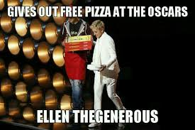 Ellen The Generous | WeKnowMemes via Relatably.com