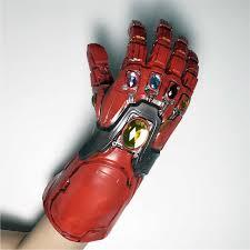 LED Iron Man Tony Stark <b>Infinity Gauntlet Avengers</b> Endgame ...