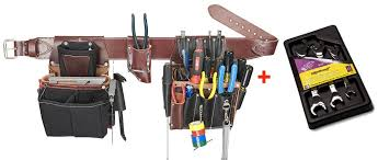 occidental leather 5590 commercial electricians tool bag set