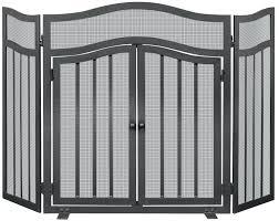 creen door fireplace screen doors wrought iron replacement with er