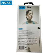 ASPOR A201 DC 3.5mm Earphone mic + volume control+ Pause Button