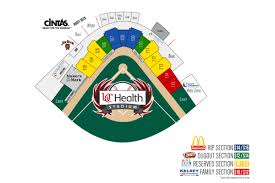 Frontier Park Seating Chart Individual Tickets