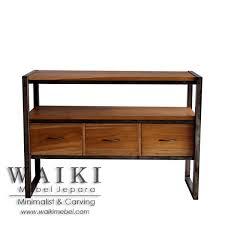 iron industrial furniture. Mebel Rustic Industrial Furniture Kayu Besi Metal Iron Wood Jepara, Buffet Besi,mebel P