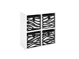 closetmaid cube drawers tiny 4 cube organizer with four zebra pattern bins review closetmaid cube fabric