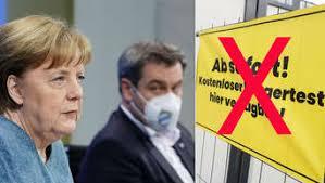 Maybe you would like to learn more about one of these? Tests Maske Impfungen Merkel Und Ministerprasidenten Bei Bund Lander Gipfel Beschliessen Neue Corona Regeln Bayern