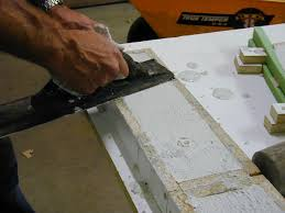 Making Cement Forms How To Complete The Form And Pour Concrete For A Vanity Top How
