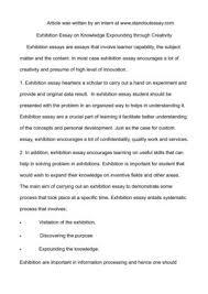 Creativity Essay
