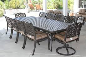 home design exciting 8 person outdoor dining table sets for chair patio set idea wicker