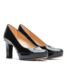 unisa women s patent leather pumps numar classic 19 pa black 2