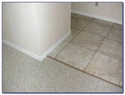 tile to carpet transition concrete floor elegant tiles home johnsonite co