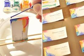 tie dye business cards cool diy tie dyed business cards crafts projects diys