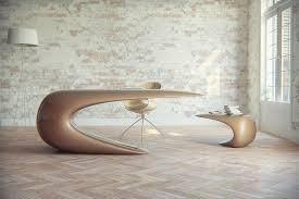 futuristic office furniture. futuristic desk for a scifi inspired office furniture