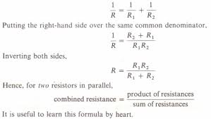 special case of two resistors in parallel physics homework help special case of two resistors in parallel