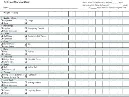 Workout Template Spreadsheet Google Sheets Updrill Co
