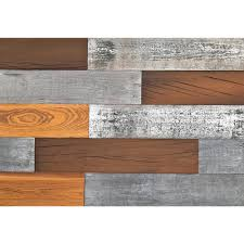 wood wall panel board cool wood wall. 1/4 In. X 5 2 Ft. Mixed Color Reclaimed Wood Wall Panel Board Cool