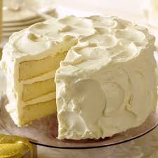 White Three Layer Butter Cake Midwest Living