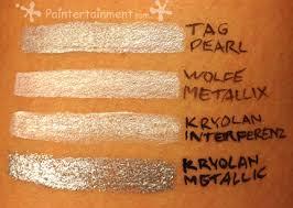 Metallic / Pearlescent Paint Brand Comparison - Paintertainment