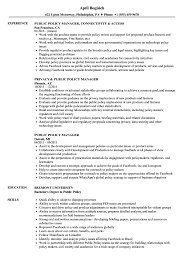 Public Policy Resume Public Policy Manager Resume Samples Velvet Jobs 1