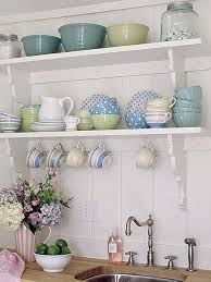 How To Have Open Shelving In Your Kitchen Without Daily Staging