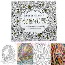 secret garden an inky treasure hunt and coloring book by johanna basford hot painting book coloring book