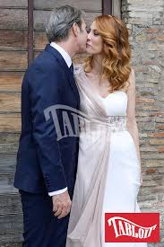 Milena Miconi, nozze a Roma con Mauro Graiani