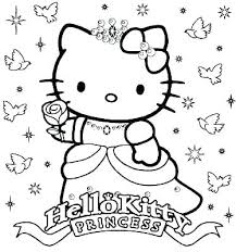 Hello Kitty Coloring Pages That You Can Print Free Online Printable
