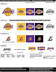 The first version of the emblem was created in 1948, when the team was based in minneapolis and was called minneapolis lakers. Los Angeles Lakers Colors Sports Teams Colors U S Team Colors