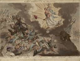 what is the meaning hidden behind the lightning bolt painted  similar expressions can be seen in the illustration below in this illustration on 10 1792 the people and troops raided louis xvi and the king of