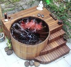 outdoor bathtub diy patio hot tub home design 3d review