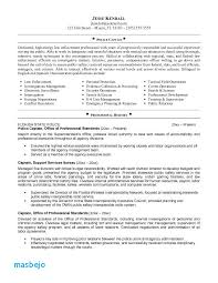 Security Resume Objective Examples 21 Pdf Police Sergeant Resume Objective Examples