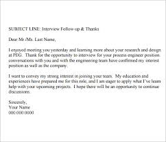 2nd Follow Up Letter After Interview 68 Images 4 Thank You