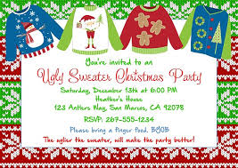 Printable Holiday Party Invitations Idea Free Printable Christmas Invitation Templates For Word Or