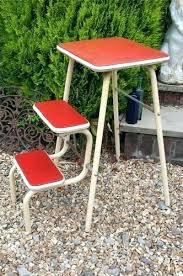 small folding kitchen steps decorative step stools kitchen vintage kitchen  steps folding stool step ladder retro . small folding kitchen steps ...