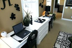 Office desk for two Full Length Wall Medium Size Of Double Sided Office Desk Two Home Desks For People Person Furniture Stores Queens Kouhou Home Office Double Desk Ideas Pedestal Desks Two Sided Furniture