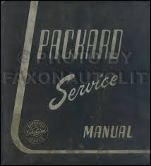 1951 1954 packard service manual reprint 1953 Packard Clipper Deluxe Wiring Diagram 1951 packard repair shop manual original all models 1952 Packard Clipper Deluxe